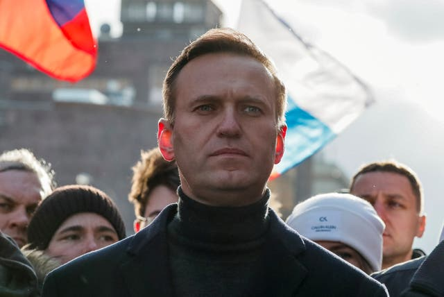Alexei Navalny was rushed to hospital in August