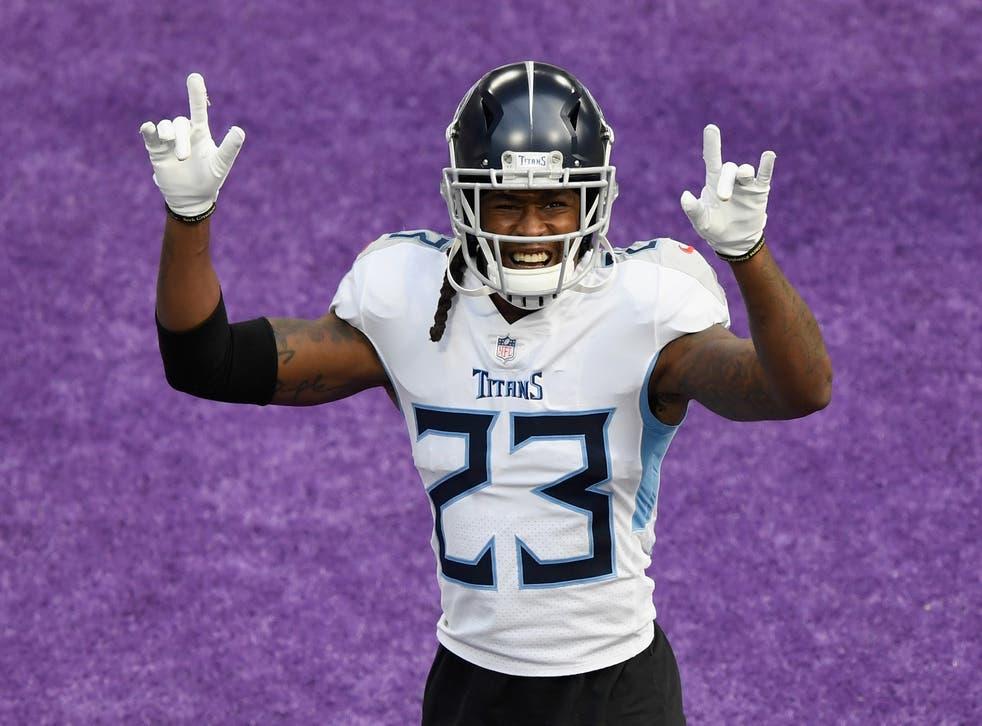 Tye Smith de los Tennessee Titans