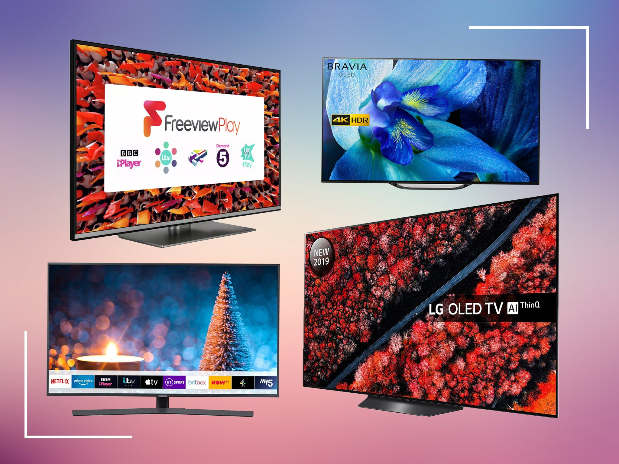 Best Black Friday Tv Deals 2020 Qled Ultra Hd And 4k Smart Tvs The Independent