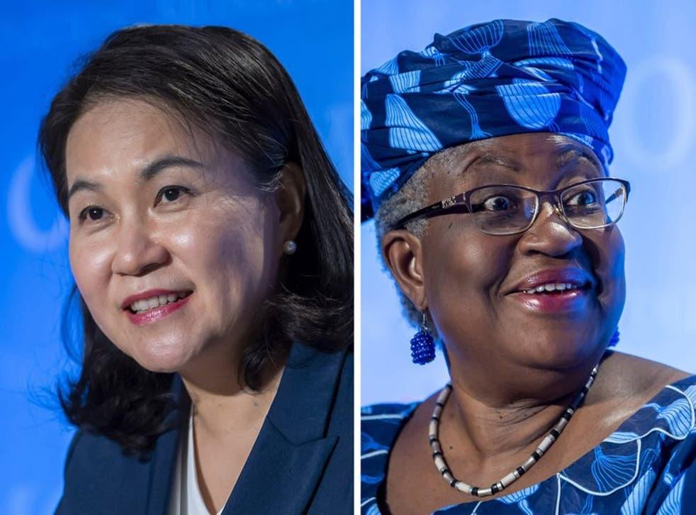 Las candidatas finalistas en el proceso de selección de la próxima directora general de la Organización Mundial de Comercio.