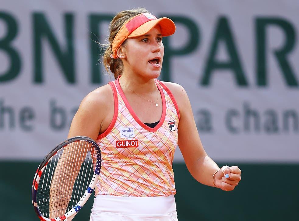 La tenista norteamericana, de 21 años, persigue su segundo título de Grand Slam.