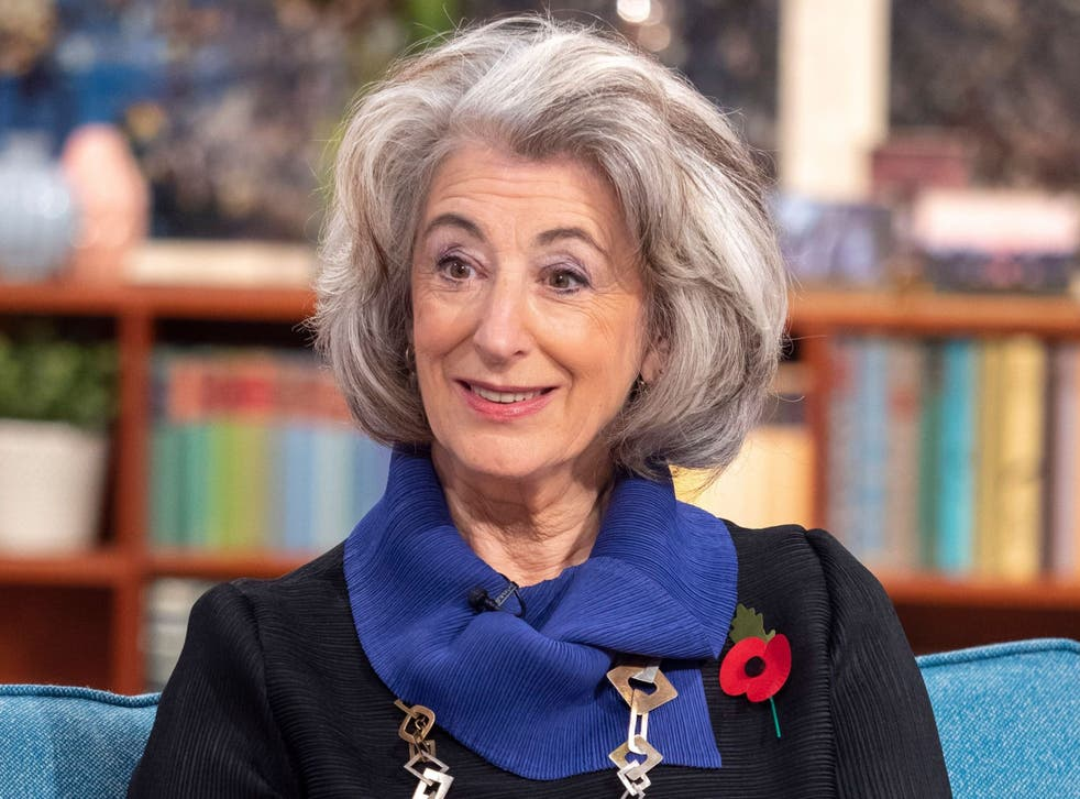 Maureen Lipman appears on This Morning (2018)