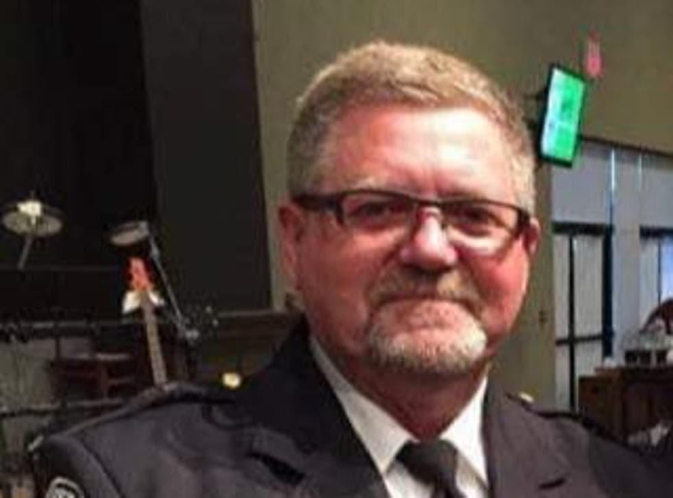 Larry Crenshaw, Anderson Police Department detective, who died after a hornet attack