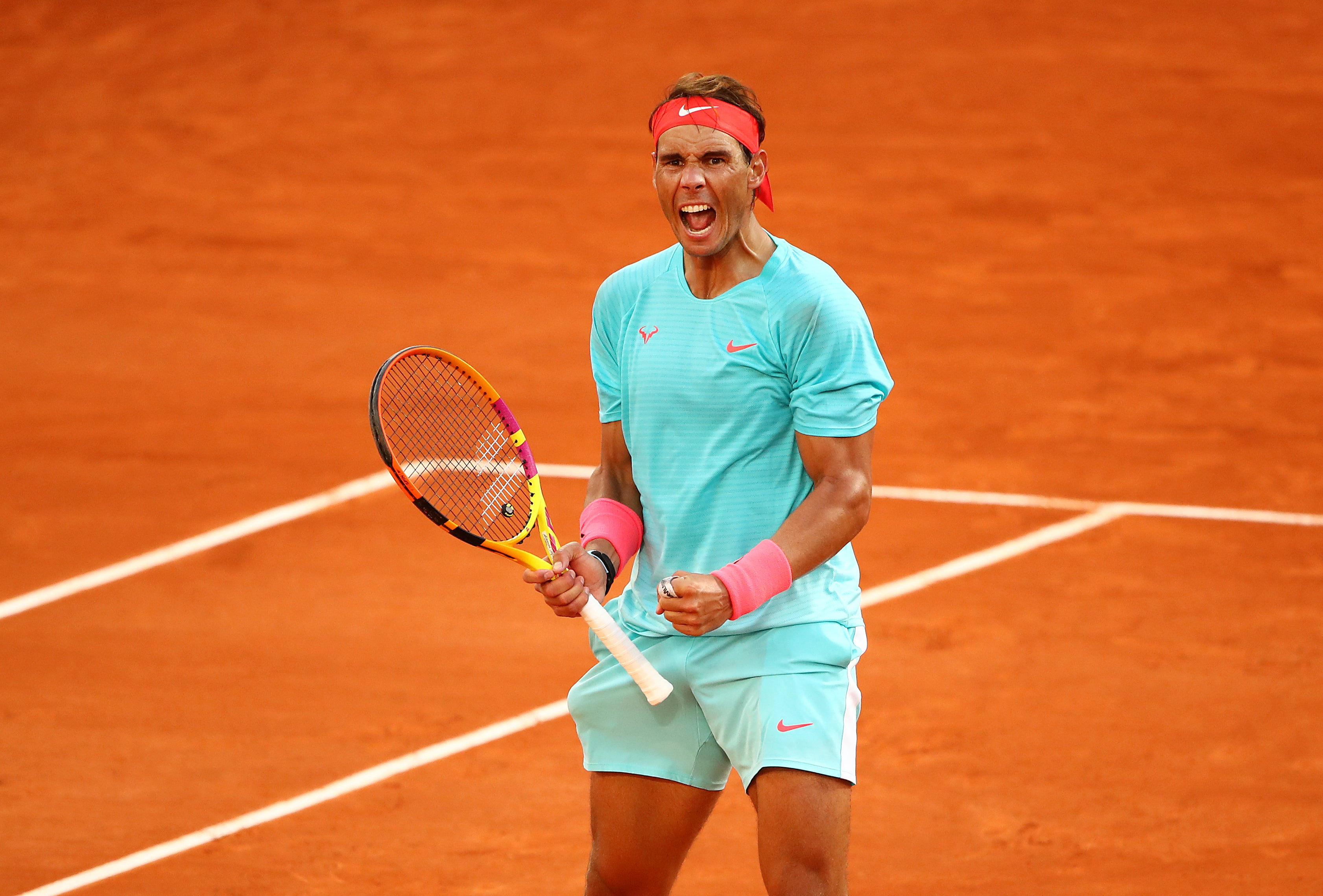 Rafael Nadal Reaches 13th French Open Final Without Dropping A Set After Beating Diego Schwartzman The Independent