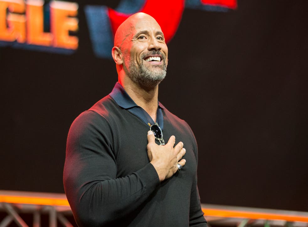 """<p>File image: Dwayne Johnson onstage at Entertainment Weekly Presents Dwayne """"The Rock"""" Johnson</p>"""