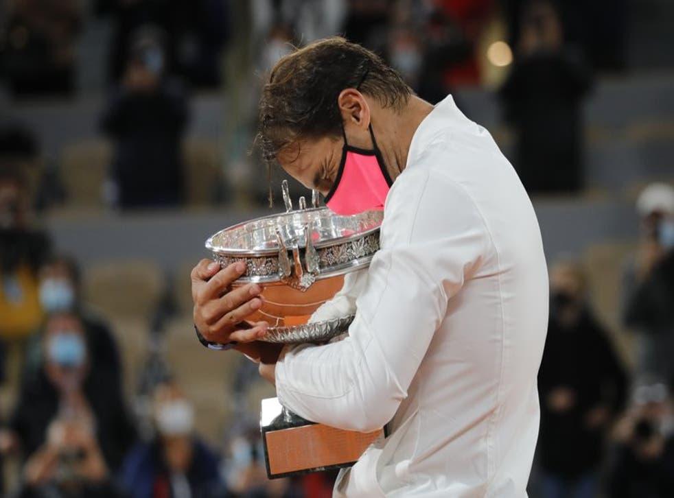 El español no cedió un set en su torneo favorito del año.