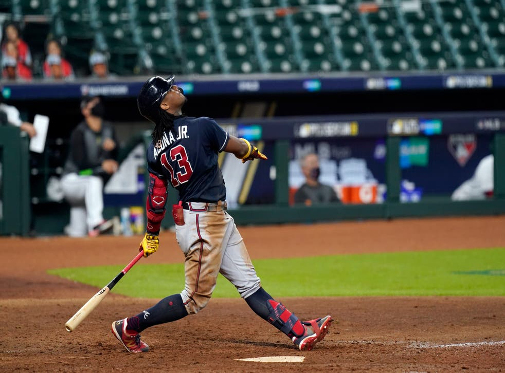 NLDS Braves Marlins Baseball