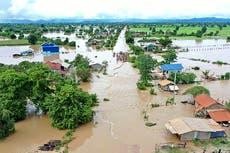 Las inundaciones en Camboya dejan por lo menos 11 personas muertas