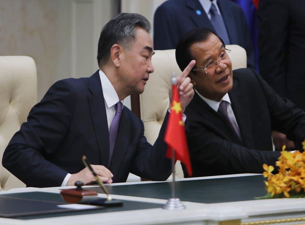 Cambodia China