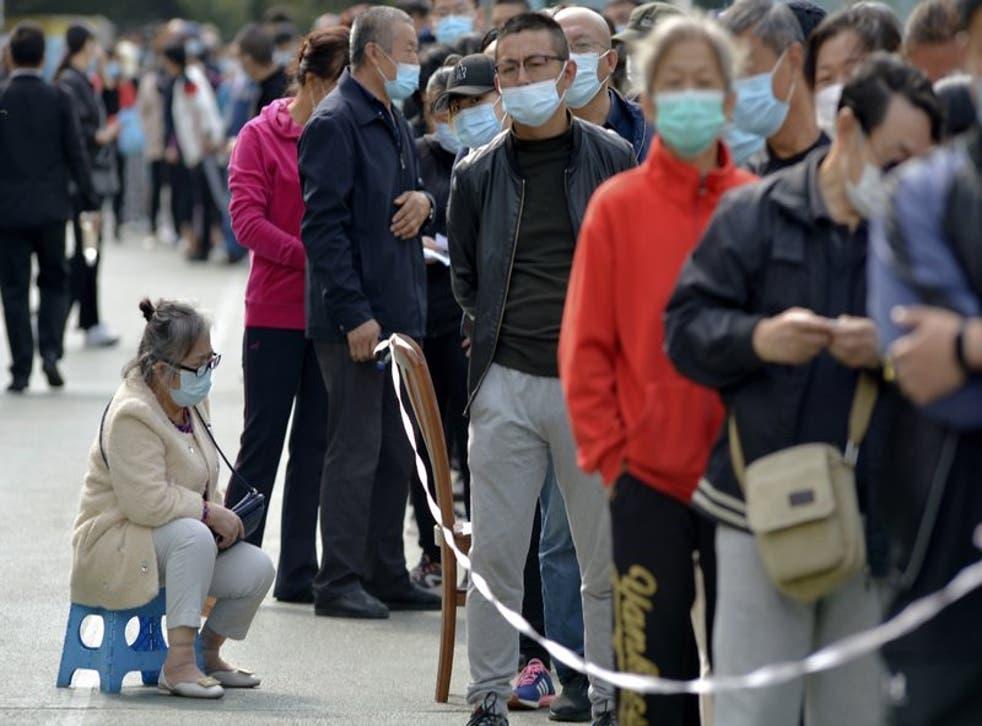Las autoridades investigan la fuente de contagio de ocho pacientes en el Hospital Municipal del Tórax de Qingdao y un familiar.
