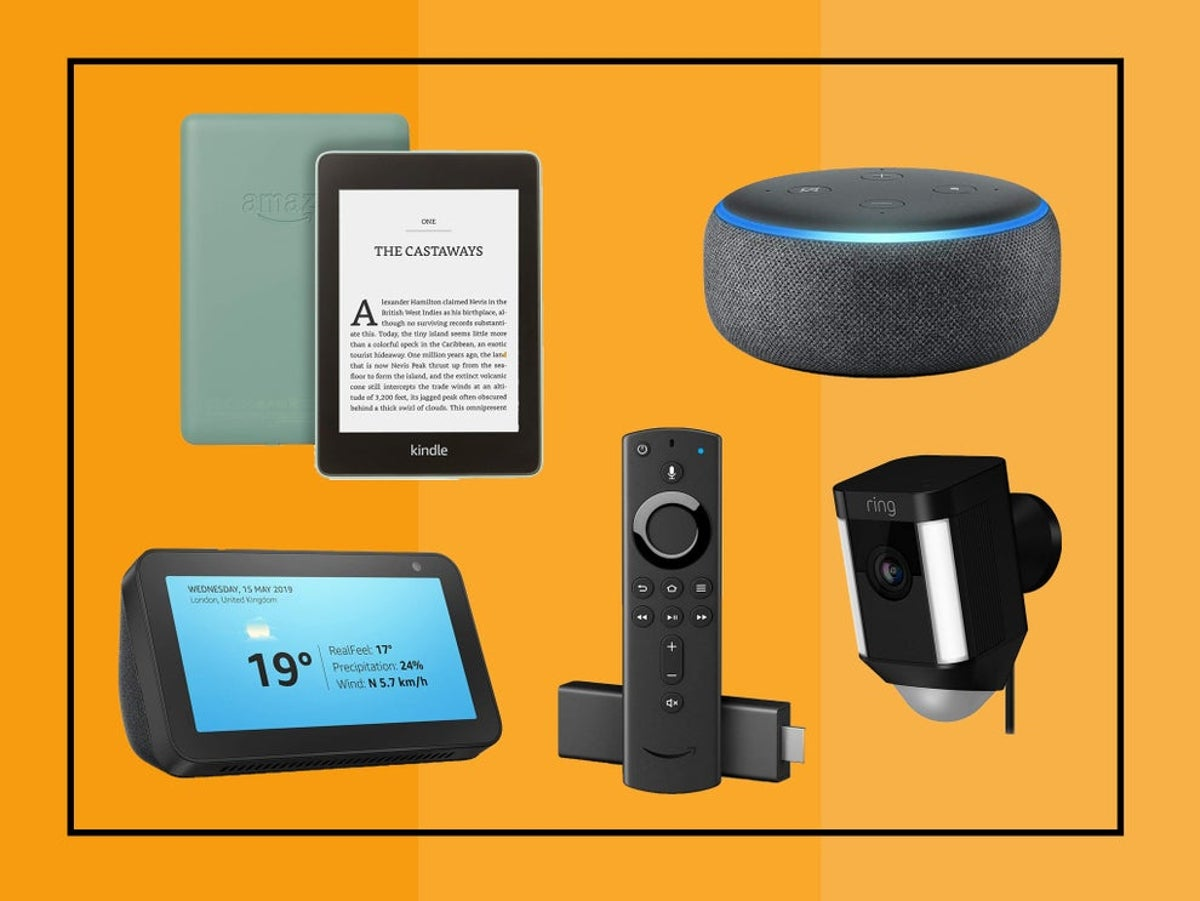 Best Prime Day Deals On Amazon Devices Echo Dot Kindle Echo Show And More The Independent