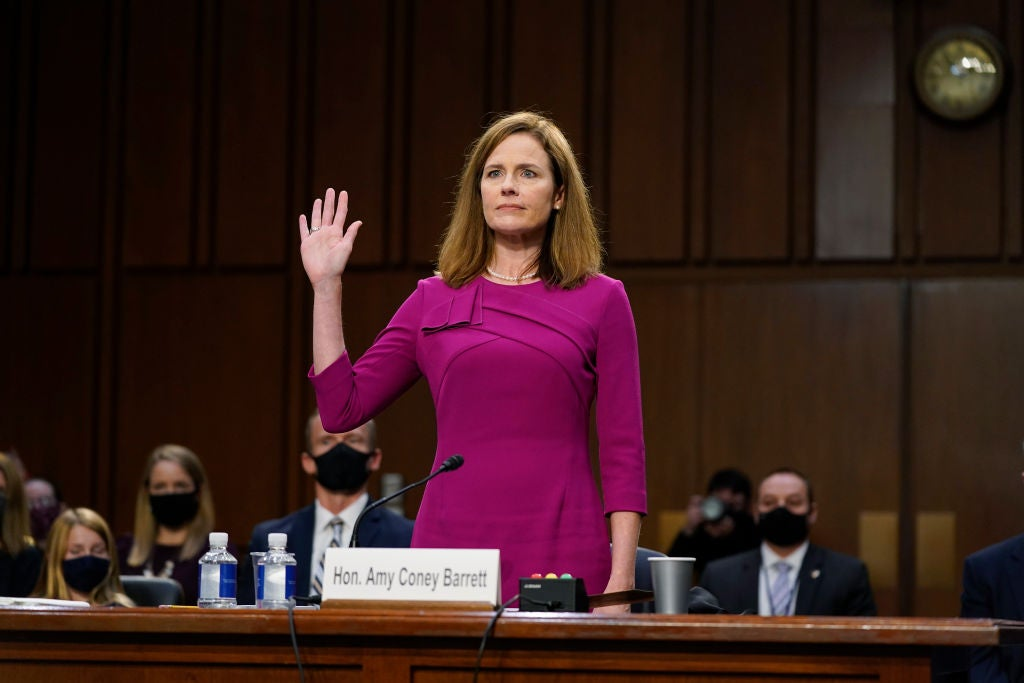 Amy Coney Barrett SCOTUS confirmation: Latest updates as Senate set to confirm Trump Supreme Court pick