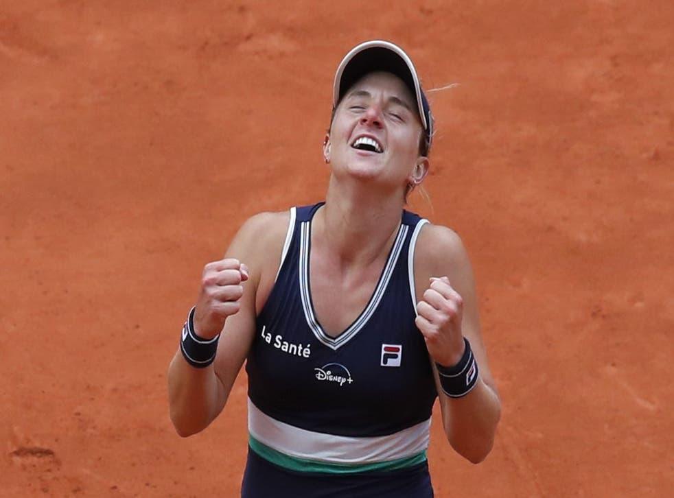 La argentina Nadia Podoroska tuvo una destacada actuación en el pasado Abierto de Francia.