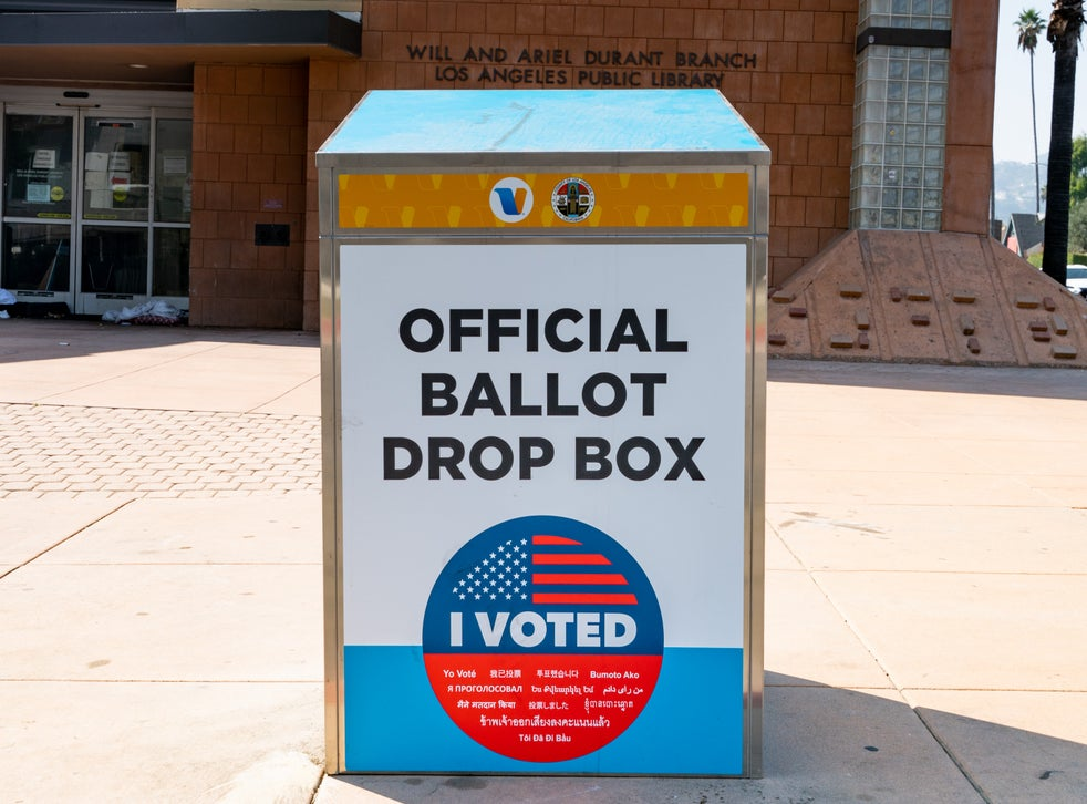 The California Republican Party is under fire for allegedly erecting bogus ballot drop-off boxes in at least three state counties.