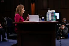 Amy Coney Barrett claims landmark abortion case is not settled law