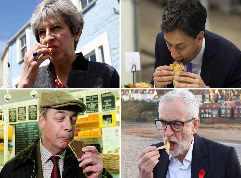 From May to Miliband, some of the most high-profile political figures in recent history have fallen foul to food faux-pas