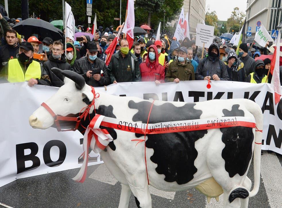 Poland Farmers Protest