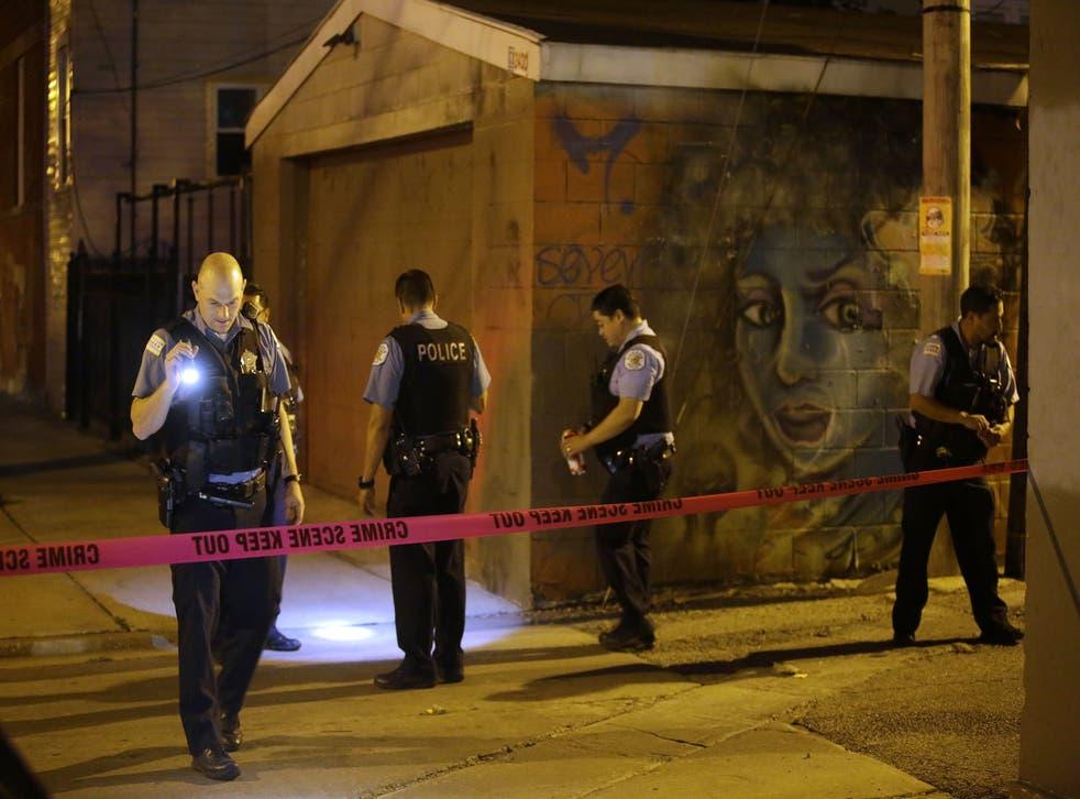 Stacy Jones, de 35 años, que estaba embarazada de ocho meses, fue encontrada en el lado sur de la ciudad.