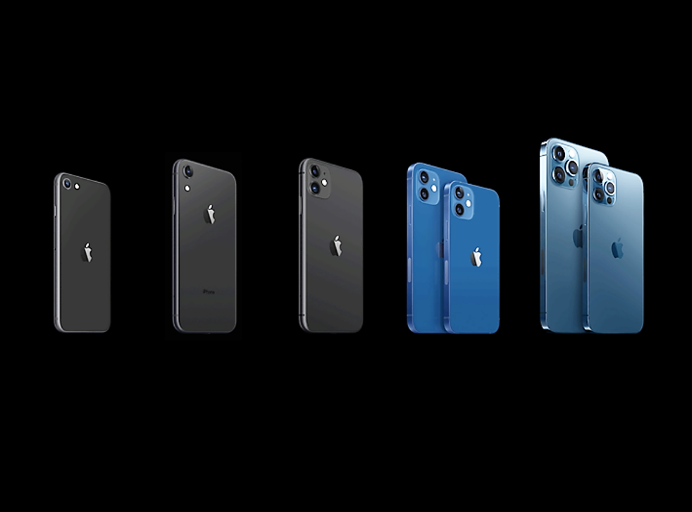 Apple has added the iPhone 12 range of phones to its existing lineup