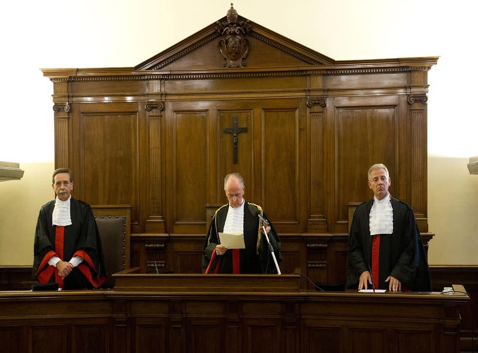 Tribunal penal de El Vaticano