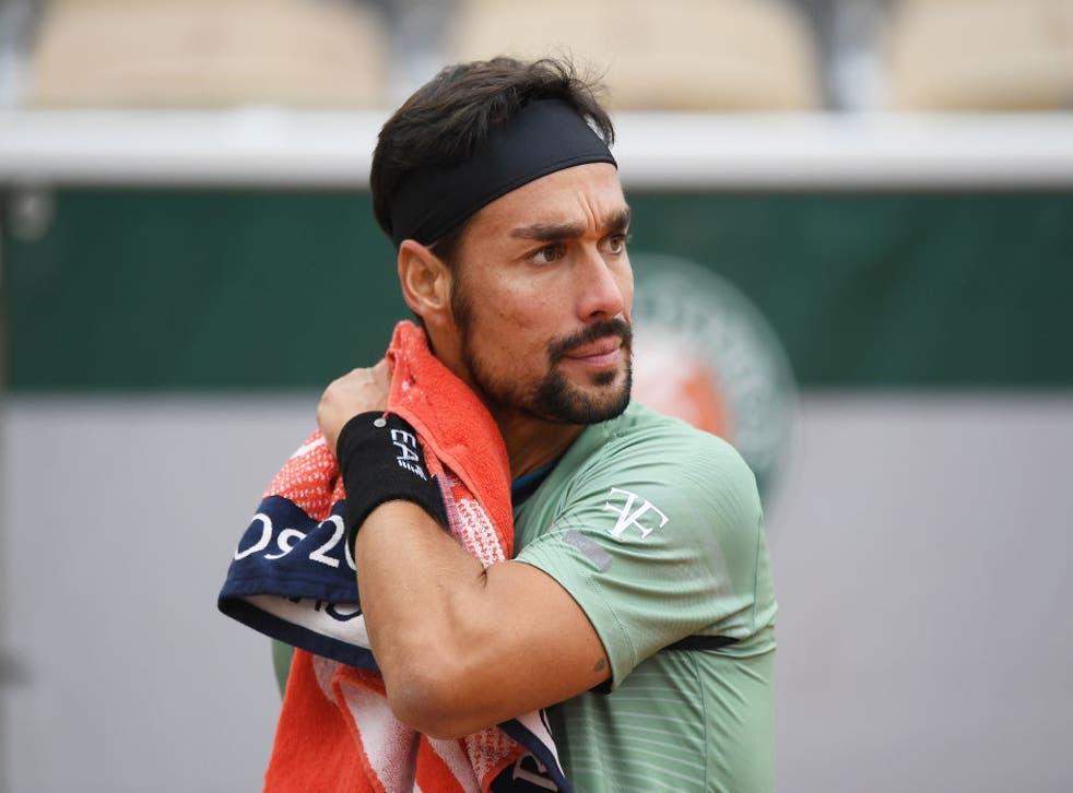 El tenista italiano fue remplazado por Danilo Petrovic en el cuadro principal del certamen