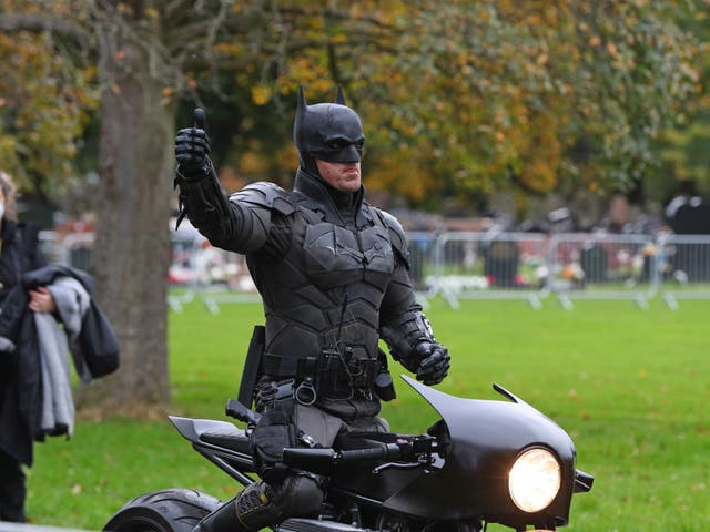 Filming has resumed on 'The Batman' in Liverpool