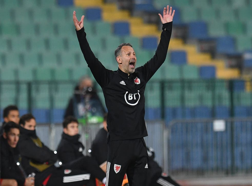 Ryan Giggs was relieved to see Wales end the international break with a victory over Bulgaria