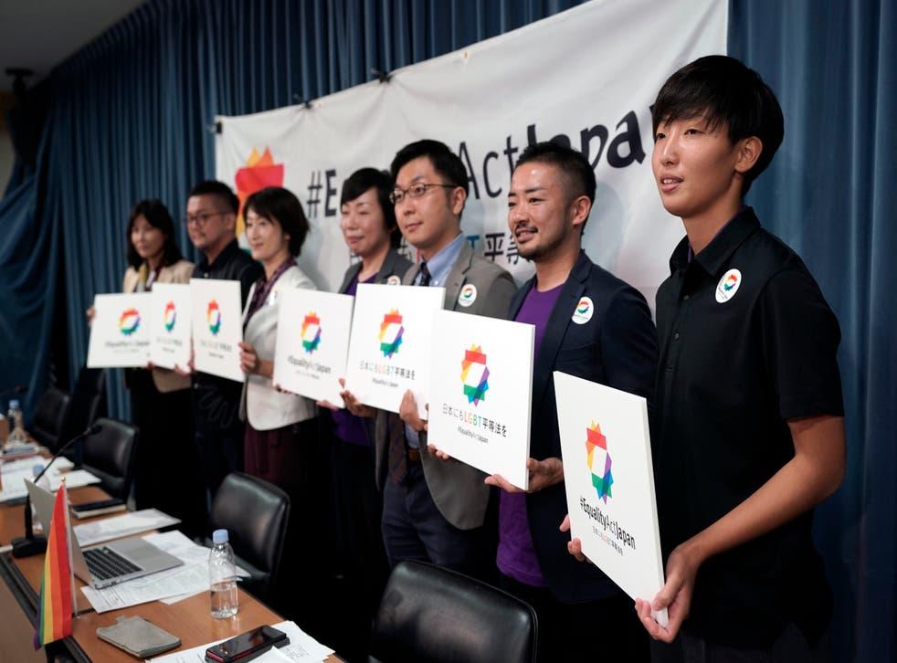 Japan Olympics LGBTQ Rights