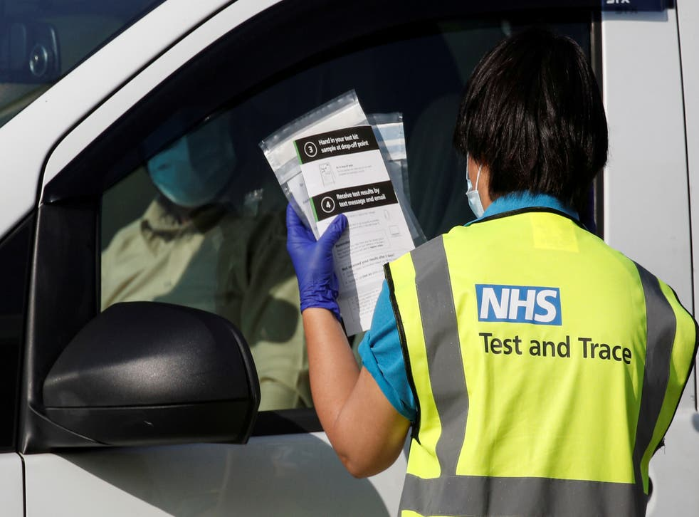 Surging infections are feared to be overwhelming the UK's test and trace system