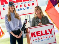 Democrat advances to run-off in special race for GOP-held Senate seat