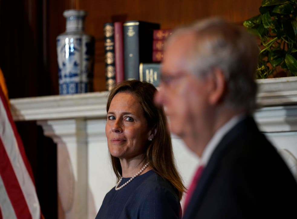 Supreme Court nominee Amy Coney Barrett is the capstone to Mitch McConnell's crusade to remake the federal judiciary in his conservative image.