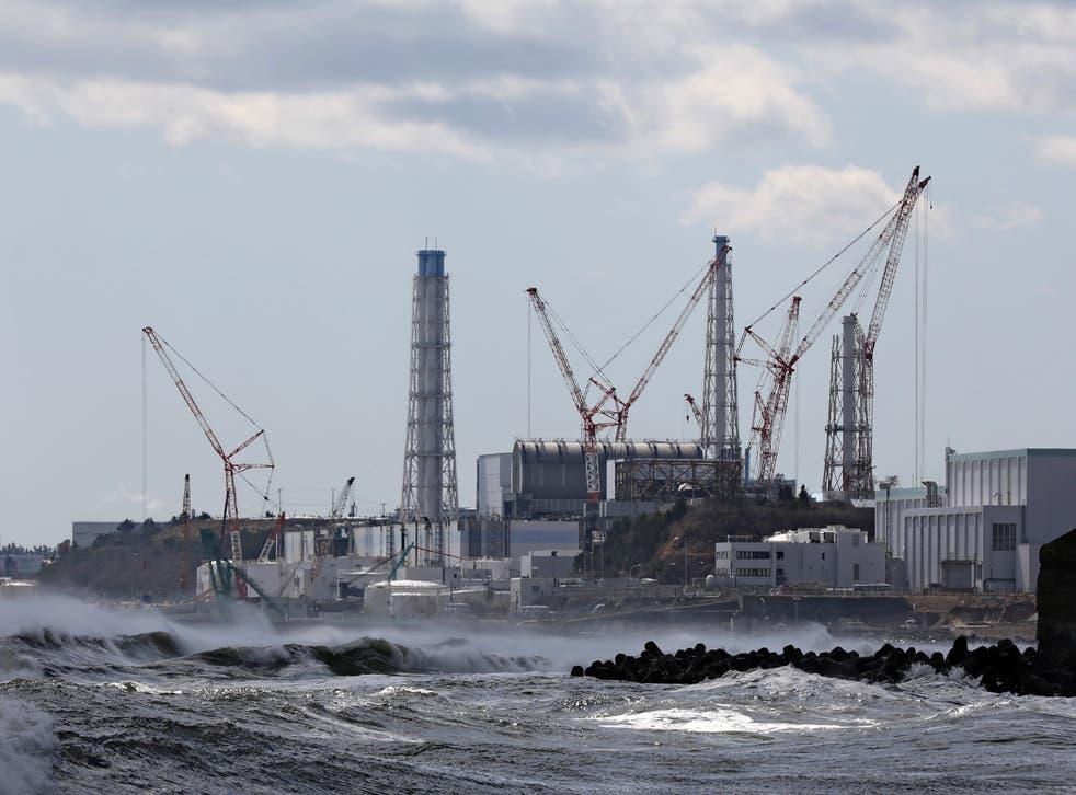 La planta de energía nuclear de Fukushima en Japón fue golpeada por un tsunami masivo en 2011