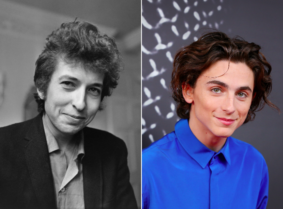 Chalamet will play Dylan in forthcoming biopic
