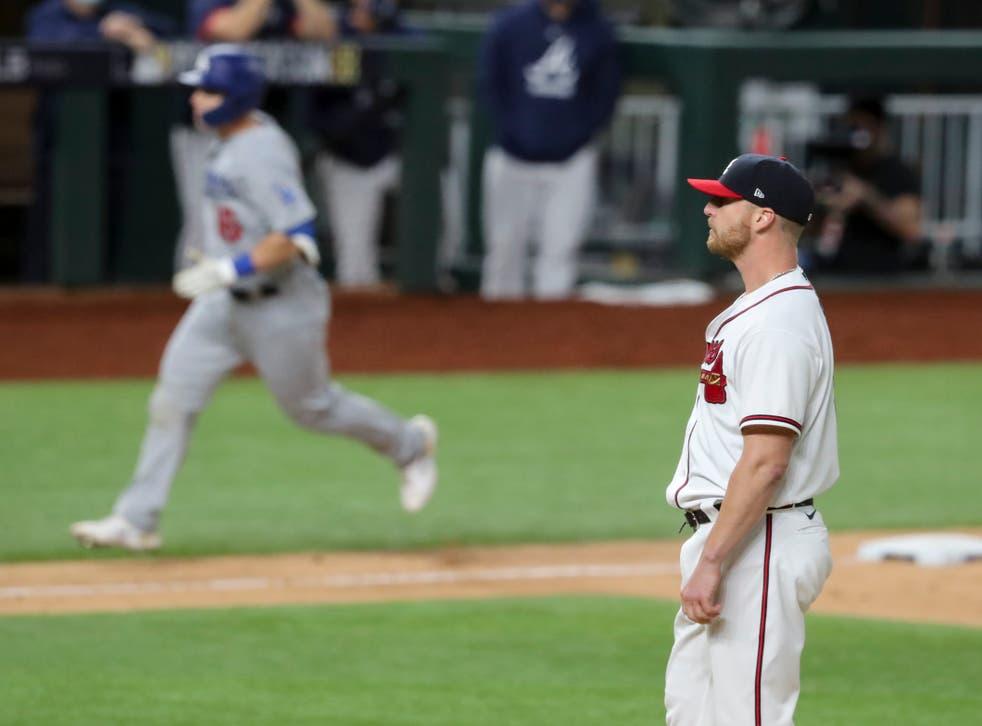 NLCS Dodgers Braves Baseball