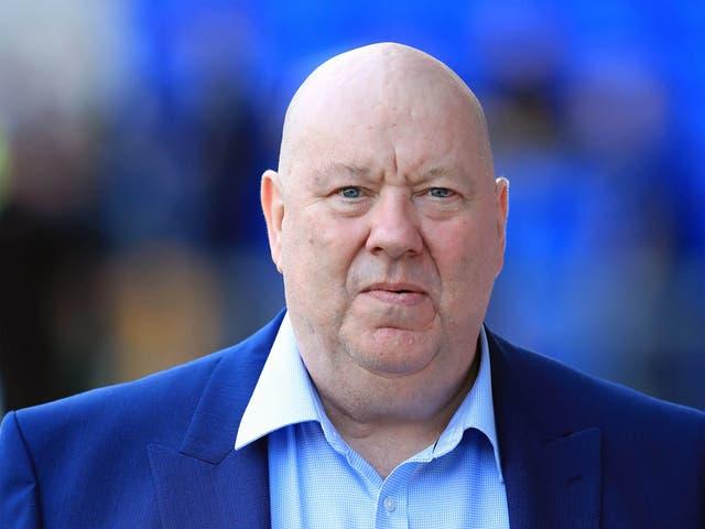 """Anderson reveló el viernes que su hermano estaba recibiendo atención en el Royal Liverpool University Hospital y estaba en una """"condición muy grave""""."""