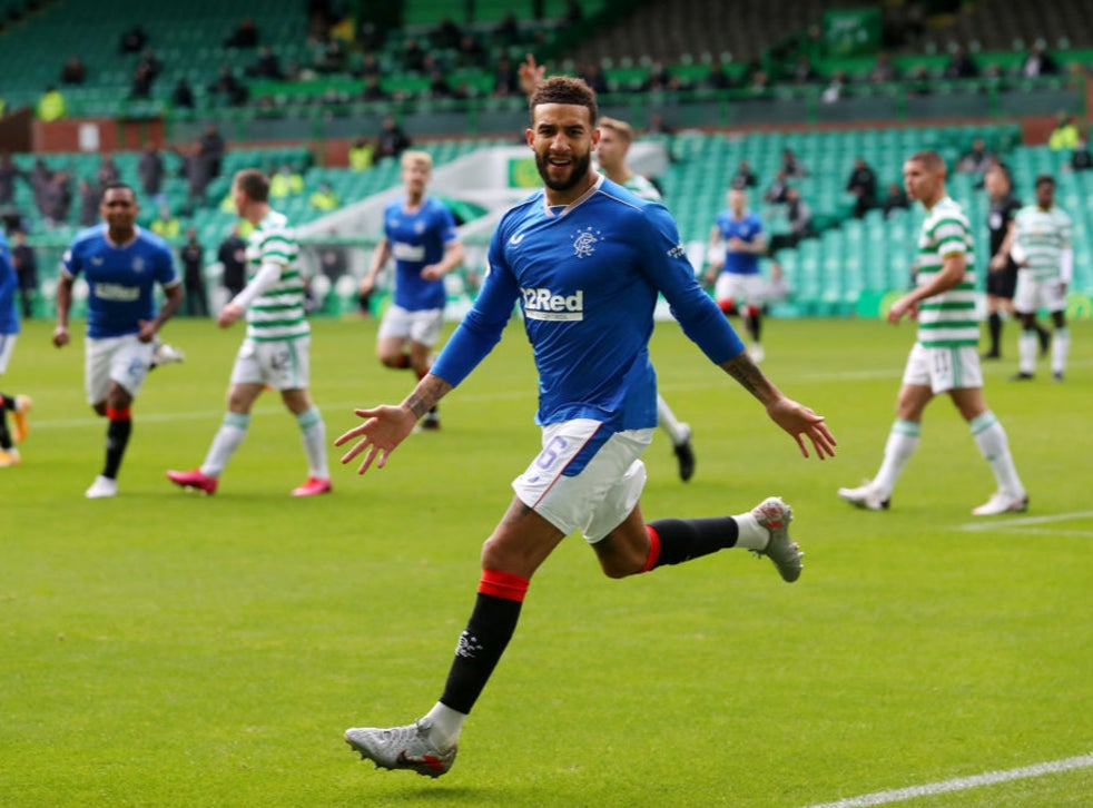 Connor Goldson Double Sees Dominant Rangers Defeat Celtic In Old Firm Derby The Independent