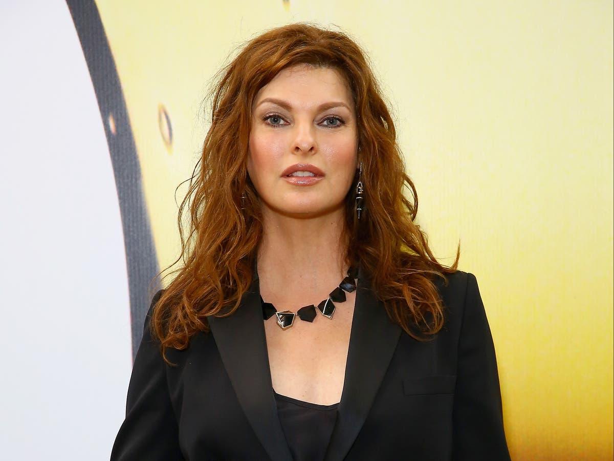 Linda Evangelista commends women accusing ex-husband of sexual assault - The Independent
