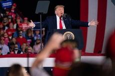 Trump alardea sobre sus nominaciones al Premio Nobel de la Paz