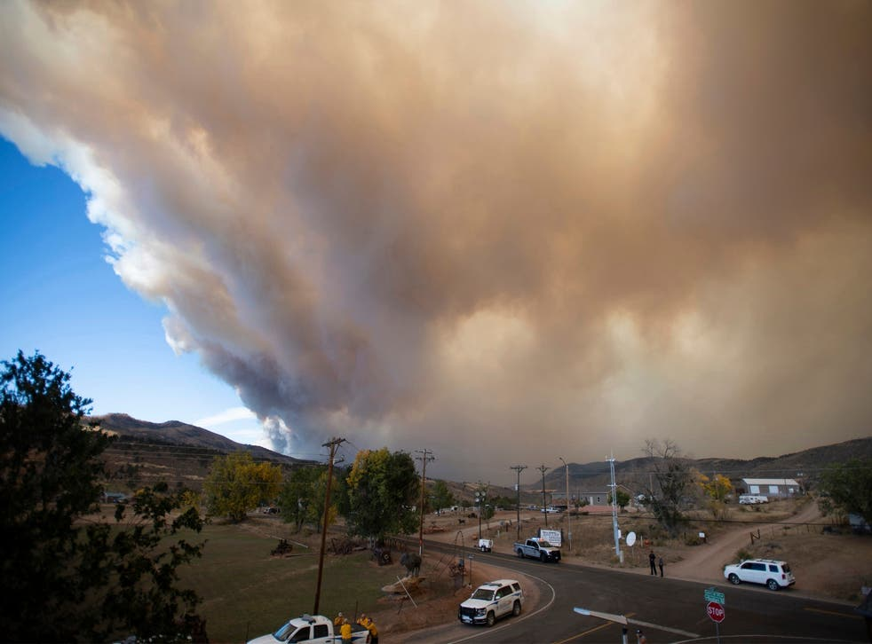 Incendios forestales de Colorado.