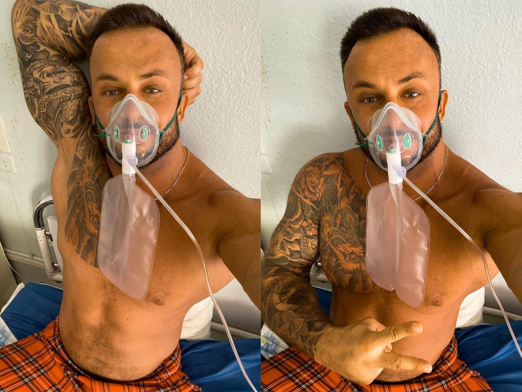 Fitness influencer Dmitriy Stuzhuk dies of coronavirus after previously  saying it didn't exist | The Independent