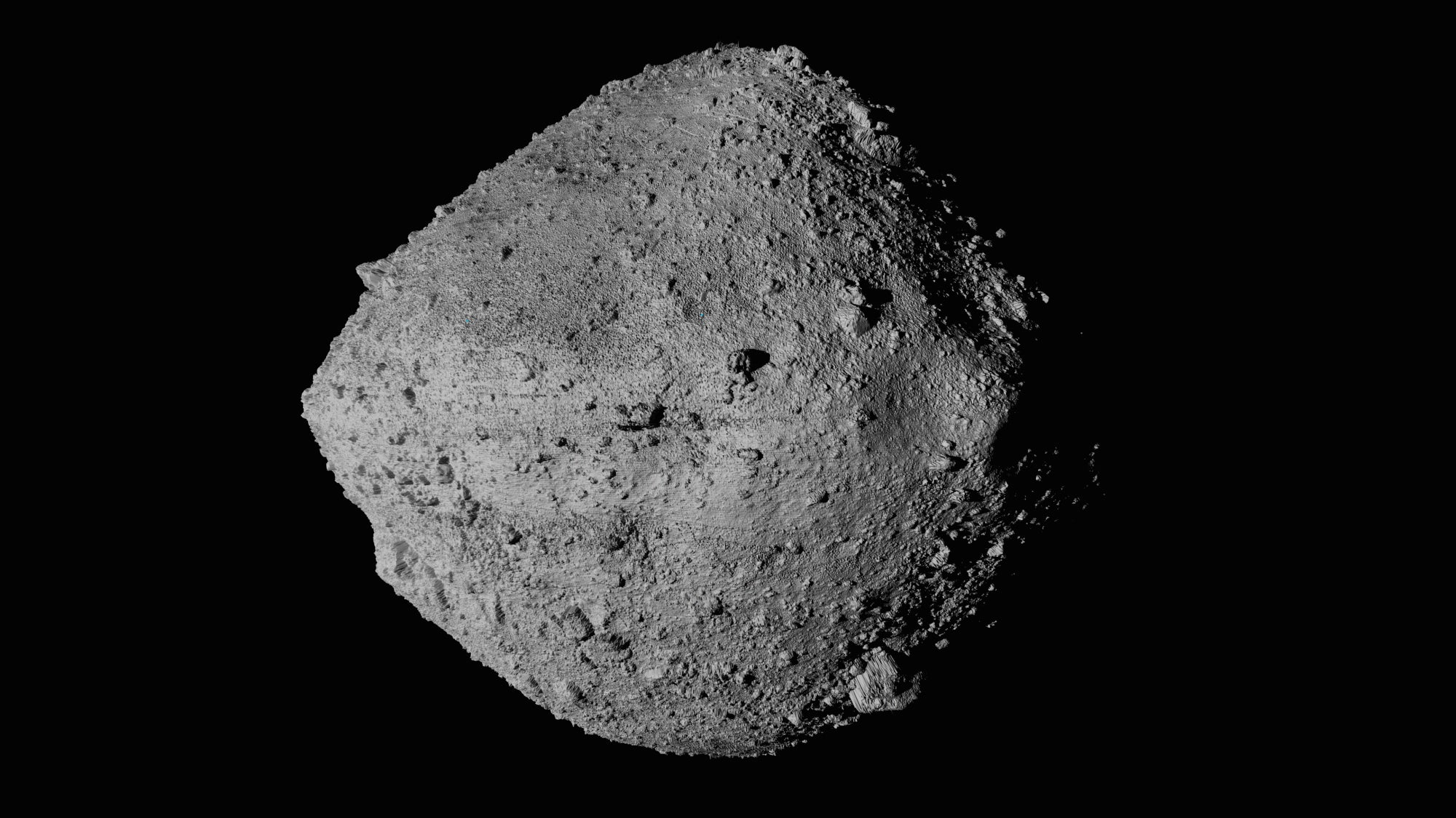 NASA spacecraft descends to asteroid's surface for rare sample collection