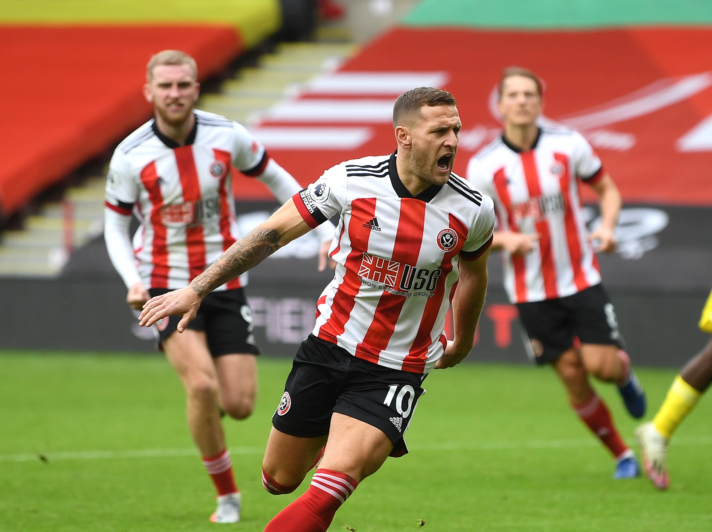 Sheffield United vs Fulham result: Late Billy Sharp penalty salvages point for desperate hosts