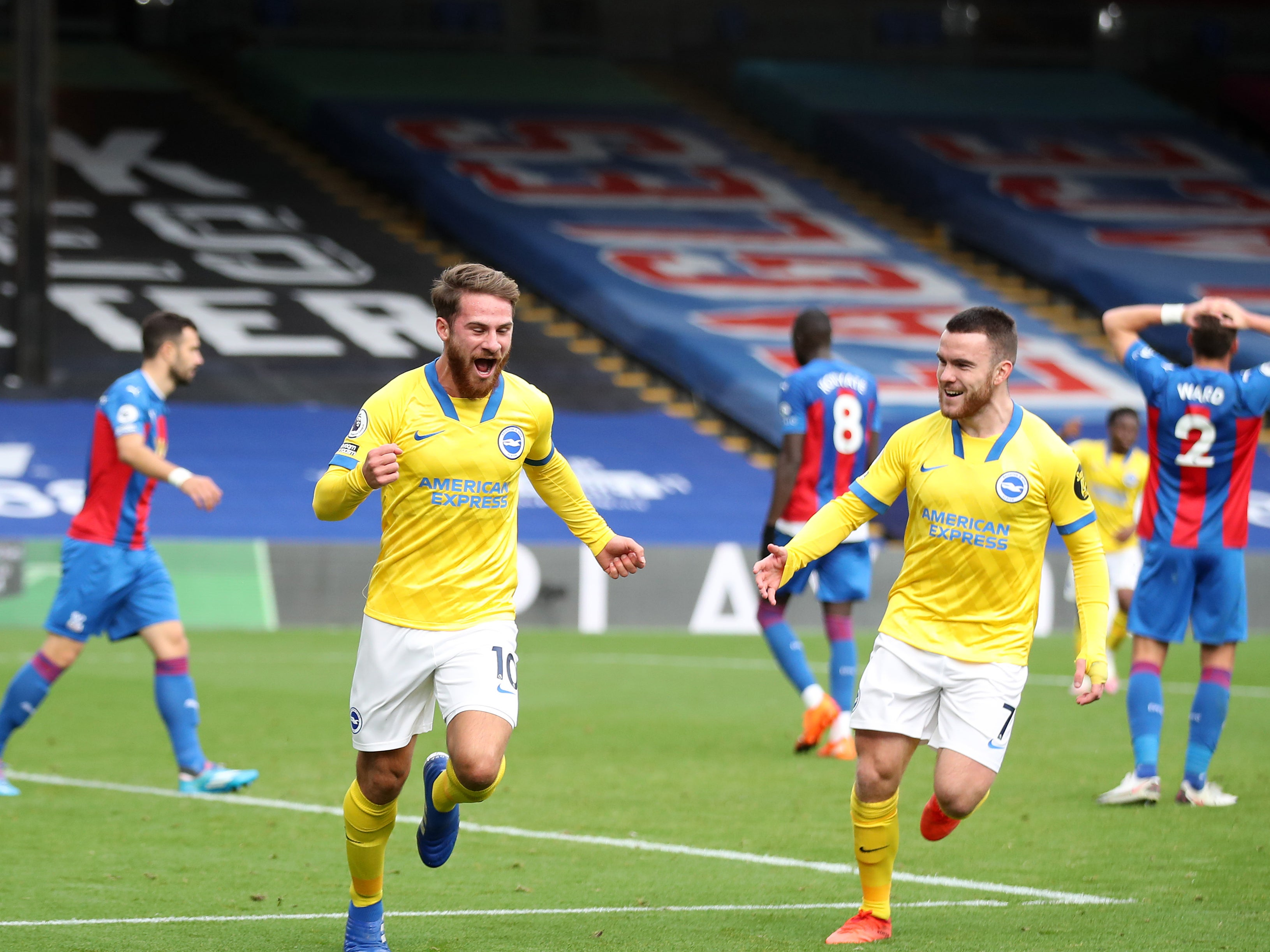 Crystal Palace vs Brighton LIVE: Result and reaction from Premier League fixture today