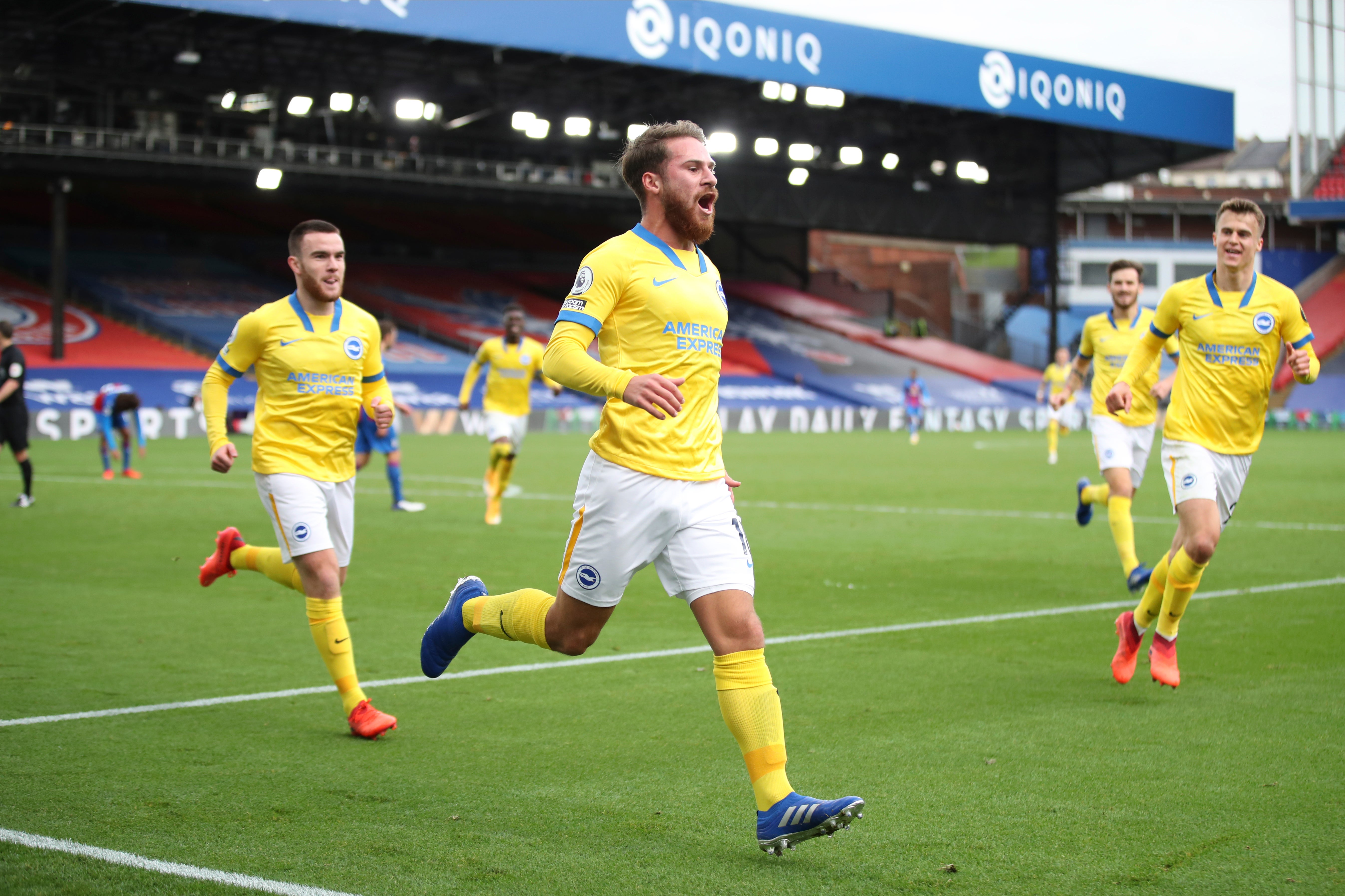 Alexis Mac Allister salvages a point for Brighton amid blood and thunder at  Crystal Palace
