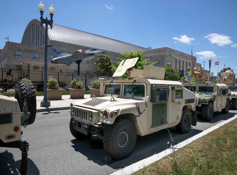 Protests Monitored-National Guard
