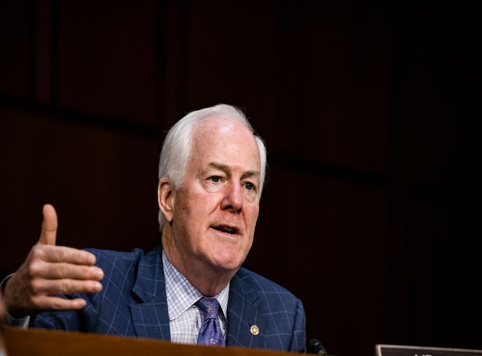 Republican senator John Cornyn