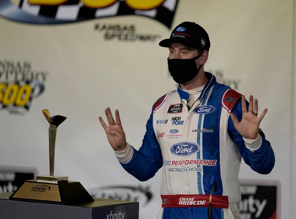 NASCAR Xfinity Kansas Auto Racing
