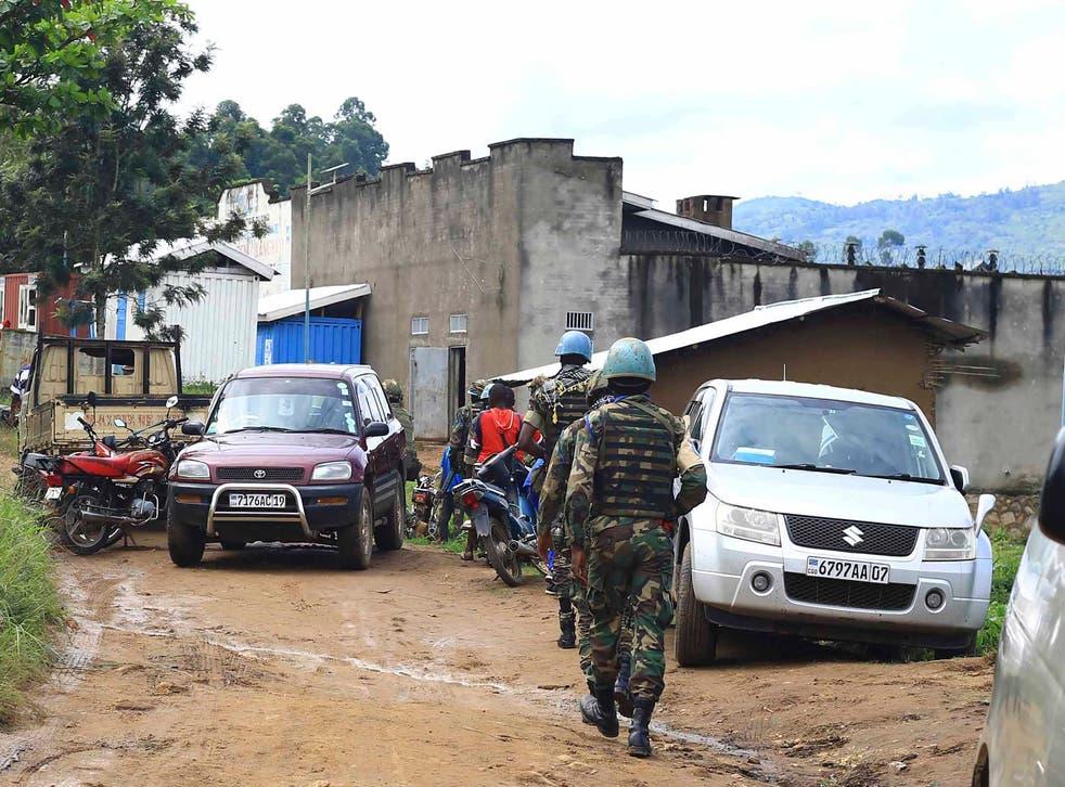 Congo Prison Break