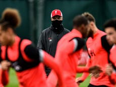 Liverpool duo set to miss Ajax Champions League clash