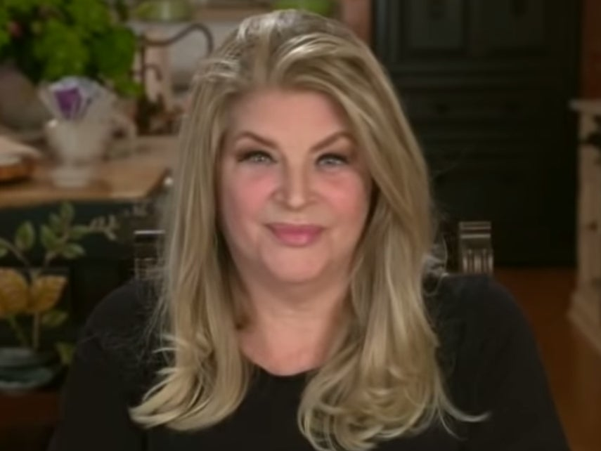 'She's got great hair': Trump's weird response when asked about Kirstie Alley endorsement